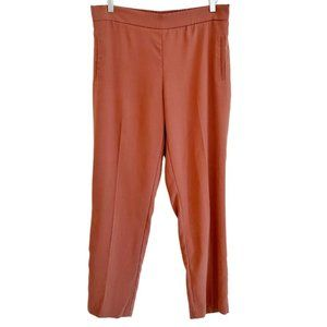 Belle Vere pleated trousers pink brown